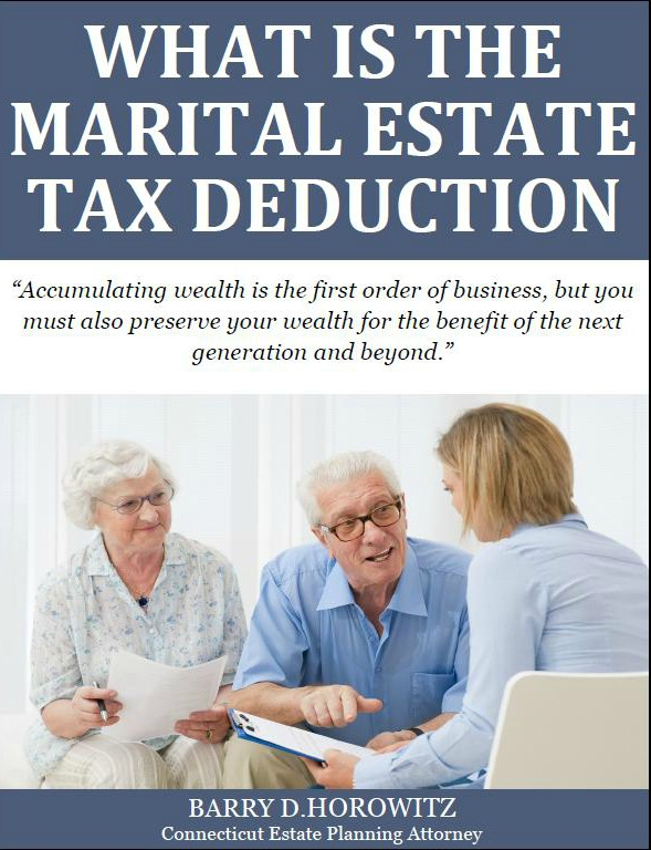 What is the Marital Estate Tax Deduction in Connecticut