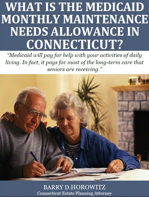 What Is the Medicaid Maintenance Needs Allowance in Connecticut